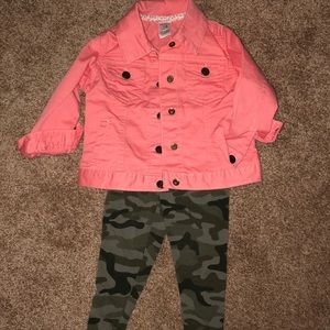 Never worn 18 mos jacket and pants